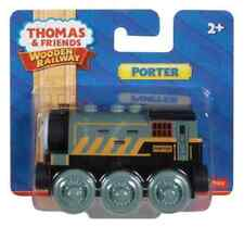 PORTER TRAIN Thomas and friends Wooden train track engine BDF98 Fisher Price Toy