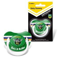81722 Canberra Raiders NRL Team Logo Infant Baby Dummy Pacifier 6 Months