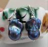 REAL HUGE AAA SOUTH SEA BLACK BAROQUE PEARL Earrings