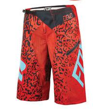 Fox Demo DH Cauz Bike Shorts Red 2016 34