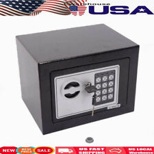 Large Digital Electronic Safe Box Keypad Lock Cash Security Home Office + Key