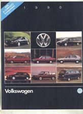 1990 VW Corrado Passat Fox Golf Jetta Cabriolet Vanagon Camper Brochure my7042