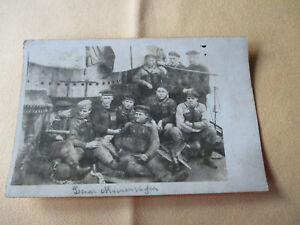 Mienensucher V2  Skagerrakschlacht  original Foto 9x14 cm 1916