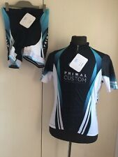 Primal Cycling Bib Shorts HELIX Jersey Race Cut Set Triathlon Women's Sz 2XL