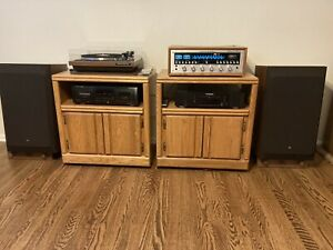 JBL L112 Speakers w/ Rare JBL Stands; Re-foamed Surrounds; Pristine Condition!