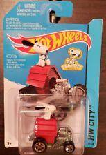 Hot Wheels HW CITY 'TOONED II SNOOPY 88/250 - 2013 Mattel - New in package