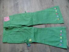 GYMBOREE schöne Cargopants Blumenstickerei grün Gr. 4/104 NEU ST817