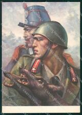 Militari 77º Reggimento Fanteria Lupi di Toscana Tafuri FG cartolina XF4021