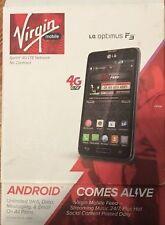 NEW LG Optimus F3 VM720 Titanium Silver LOCKED to Virgin Mobile Plan phone