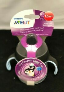 New Philips Avent Toddler Spout Sippy Cup 12m+ / Special Edition Penguin