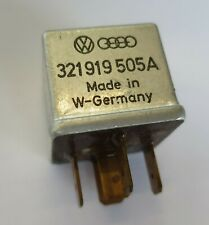 VW Polo 3 III Gt G40 5-polig 3F Py Relay 321919505A Fuel Pump Control