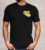 Kobe Bryant GiGi Bryant Tribute Lakers Shirt Black Mamba Mambacita Lakers 8 24 2