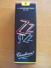 Vandoren ZZ tenorsaxophonblätter grosor 2 hojas sueltas