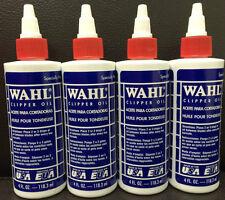 Wahl Véritable Huile pour Tondeuse X 4 - 118ml À Cheveux (3310-817)