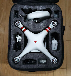 DJI Phantom 3 Standard Camera Drone W/ All Accessories- Carrying Case Included