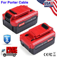 2PACK FOR PORTER CABLE 20V BATTERIES PCC685L PCC682L MAX 4.0AH CORDLESS COMPACT