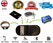 Mobile Phone-Car Key Fob Signal Blocker Guard Protector Faraday Bag Block Theft