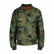 Zip Camouflage Unbranded Coats & Jackets for Women