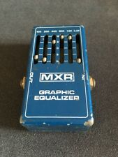Vintage 1970s MXR Graphic Equalizer Guitar Pedal - 6 Band EQ Effect