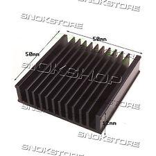 1pcs 50x50x12mm HEAT SINK ALUMINUM for LED CHIP CPU VIDEO DISSIPATORE ALETTE
