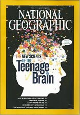 National Geographic October 2011 Teenage Brain/Australias Slot Canyons/Shark