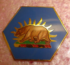 CREST DI, NATIONAL GUARD HQS,==CALIFORNIA