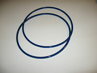 """2 BLUE MAX 1/4"""" ROUND DRIVE BELTS FOR WINMAX BS-614 BAND SAW"""
