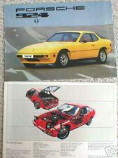 1977 PORSCHE 924 Dealer Sales Brochure