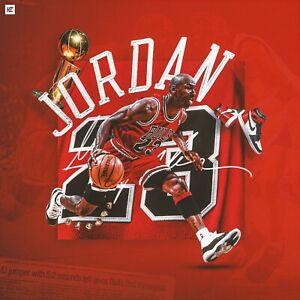 """Michael Jordan Poster 24"""" x 24"""""""