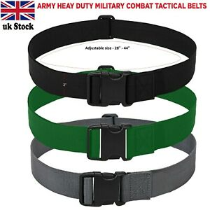 Fashion Military Web Belt Outdoor Sports Tactical Waistband Nylon Waist Belt