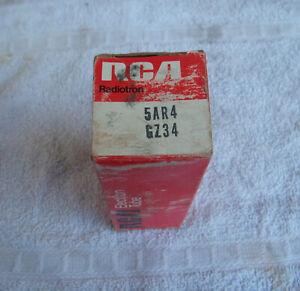 1970s  RCA 5AR4 GZ34 NOS NIB Tube