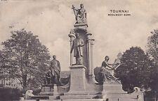 AK Tournai 1913 Monument Bara