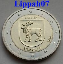 Letland speciale 2 euro 2018 Zemgale UNC