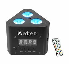 Chauvet DJ Wedge Tri RGB LED DMX Triangle-Shaped Wash Light Effect with Remote
