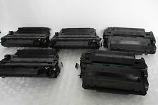 LOT-5 Remanufactured Toner Cartridge for HP P3015dn P3010 Printer 55X CE255X NEW