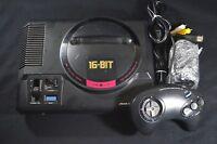 Complete Sega Genesis Black Console with Controller Japanese NTSC-J Japan