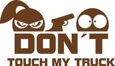 Don´t touch my Truck - Aufkleber Sticker Vinyl Decal Folie Schriftzug Logo