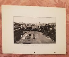 Prince Alfred Hospital Grounds OR Sydney Streets - Vintage Book Print