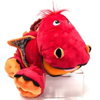 STUFFIES Blaze the Dragon Red Plush Stuffed Toy with 7 Secret Pockets 28 Inches