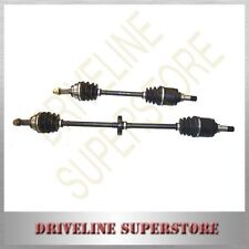 A SET OF TWO NEW CV JOINT DRIVE SHAFTS FOR FORD FESTIVA WF 1.5L MANUAL 1998-2002