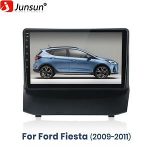 Car STEREO Radio For Ford Fiesta 2009-2011 ANDROID 10.0 GPS WIFI CAMERA RDS DAB+