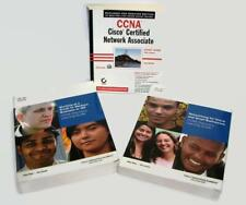 CCNA Cisco Certified Networking Acad. Study Learning Guides (3) Practice Testing