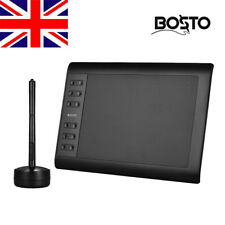10*6'' Digital Graphic Drawing Tablet Pad 1060 Plus with Wireless Stylus Q5M6