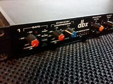 dbx 166 2-channel compressor/limiter, one left!