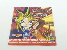 Yu-Gi-Oh!  Music To Duel By CD  McDonald's Mighty Kids Meal  Yami Yugi  NO CARDS