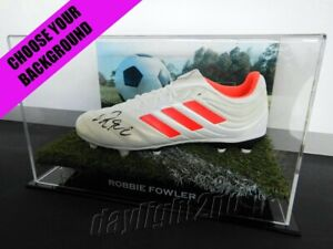 ✺Signed✺ ROBBIE FOWLER Boot PROOF COA Liverpool EPL England 2021 Jersey A-League