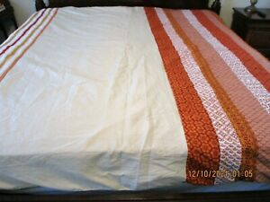 Pier 1 Imports Striped Duvet Cover Full/Queen Size