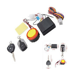 Universal Alarm System Immobiliser Remote Control Security For Motor Motorcycle