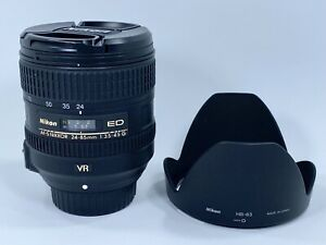 Nikon AF-S Nikkor 24-85mm f/3.5-4.5G ED VR F Mount Camera Lens