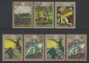 Togo - 1968, Anniiversary of ILO (Paintings) set - CTO - SG 713/19 (e)